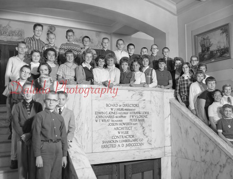 (1959-60) Shamokin High School: Seventh Graders, Schurtz.