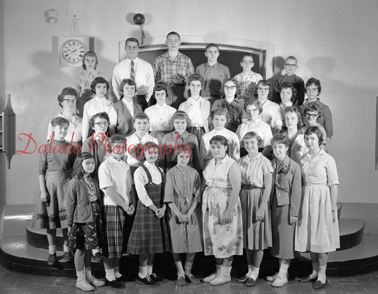 (1959-60) Shamokin High School: Bible Club.
