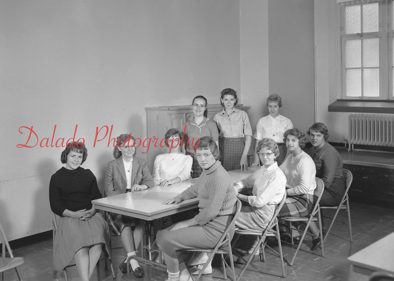 (1959-60) Shamokin High School: FTA.