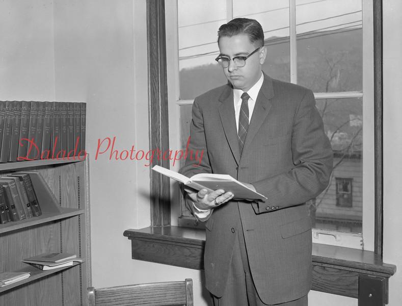 (1959-60) Shamokin High School: Teacher, Kanaskie.