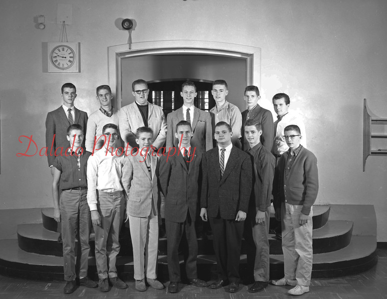 (1959-60) Shamokin High School: Boys Chorus.
