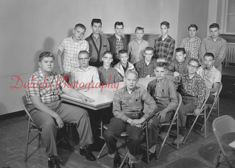(1959-60) Shamokin High School: Protector Club.