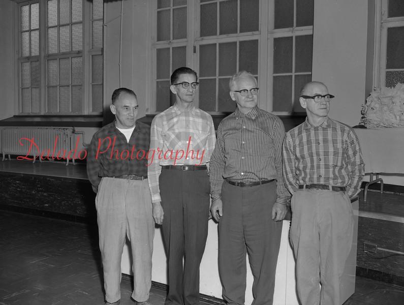 (1959-60) Shamokin High School: Maintenance.