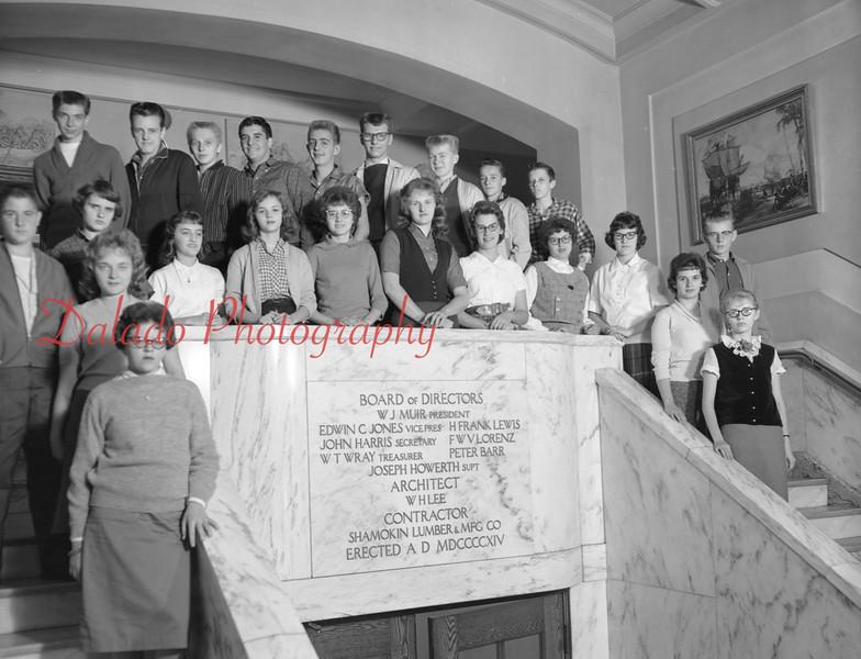 (1959-60) Shamokin High School: Tenth Graders, Paul.