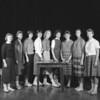 (1959-60) Shamokin High School: Girls Varsity.