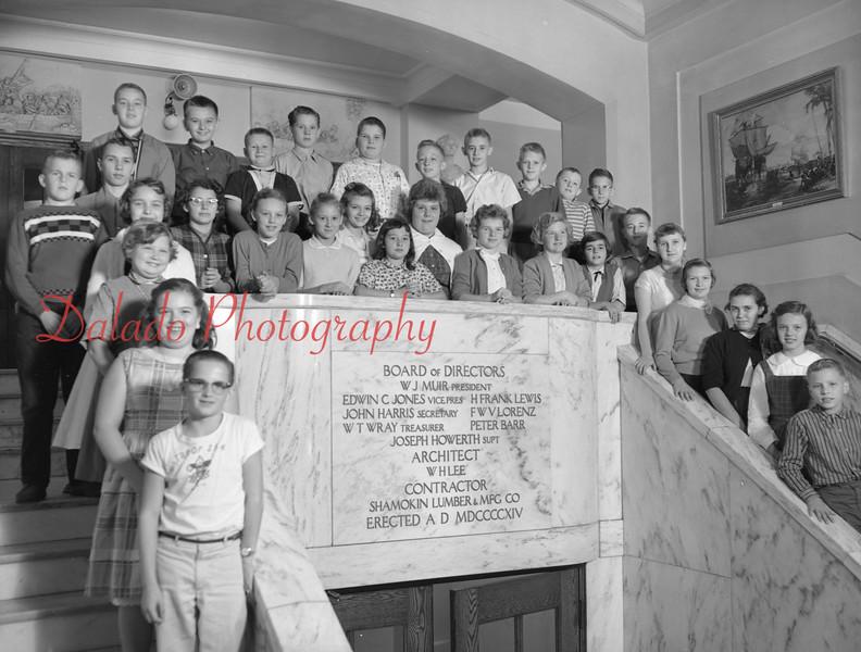 (1959-60) Shamokin High School: Seventh Graders, Rodgers.
