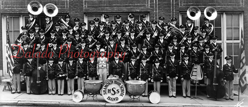 (1938) Shamokin High School band.