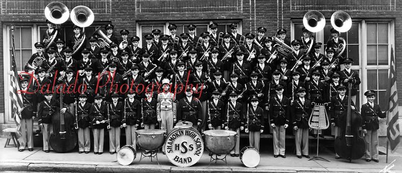 (1938) Shamokin High School band.