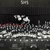 (1954) Shamokin High School band.