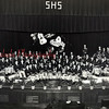 (1954) Shamokin High School band.