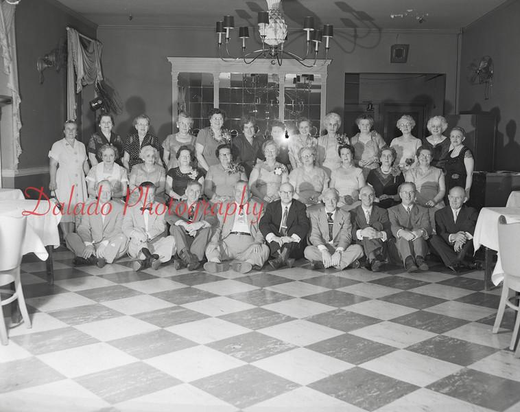 (1958, 59, or 60) Shamokin alumni reunion.