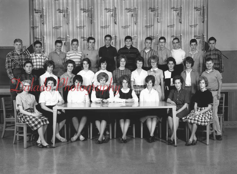 (1963) Shamokin High Schoo, Mr. Richard's class.
