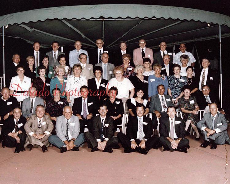 (1991) Shamokin High School Class of 1951 40th reunion.