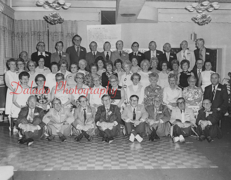 (1973) Shamokin High School Class of 1933 celebreated the 40th anniversary of its graduation. Class members include, front row, from left, Keith Brouse, Albert Weller, Emerson Hollenback, William Harris, Lee Kerstetter, Frank Stroup, Ed Clauser and Steve Sheetz; second, Catherine Deaner Pembridge, Blanche Edwards Sodergren, Adele Juris Scandle, Kathryn Peters Harkins, Opel Burt Sholly, Grace Malloy Gerrity, Mary Weimer, Louise Gonnerman Keller, Miriam Gortner Prichard, Alethea Steiner String and Lewis Delbaugh; third, Verna Mattern Rogers, Pauline Goodman Buriak, Calvin Keller, Lucretta Eidam, Dorothy Ballentine Kramer, Ada Chapman Zaleskie, Grace Adams Wallick, Grace Dingle Kaseman, Jane Reply Giles, Phronie Scholl Evans, Evelyn Grady Kerstetter, Reba Hirsh, Helen Ammerman Howells, Elizabeth Schnell Dyer, Elizabeth Dyer Hilbush, Marion Morris Krick, Rudy Simmers Shurgalla, Mirian Treibley Wilson, Lucy Hoffman Dockey, Madeline Dunkin Souden, Albert Clauser, Marion Williams Kuebler; back, Harry Jones, William Clements, Francis Fedorka, Irvin Rhoades, George Shipes, Venuel Dreher, Gilbert Bitting, Benjamin Horwath, Walter Strine, Richard Souden and Edwin Carl.