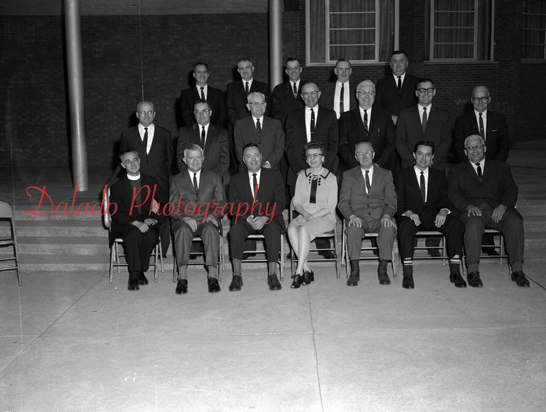 (1964/65) Shamokin School Board.