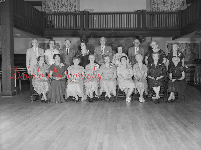 (1958, 59, or 60) Shamokin alumni reunion.