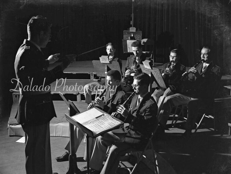 Shamokin High School band, directed by Mr. Hastings.