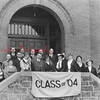 Shamokin High School Class of 1904 reunion.