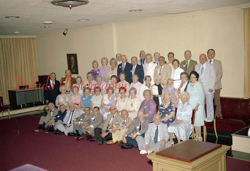(05.02.81) Shamokin High School Class of 1931 50th reunion.
