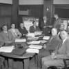 (1959) Board members with Mr. Lark.