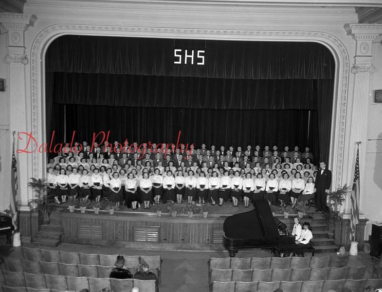 North East District Chorus at Shamokin High School.