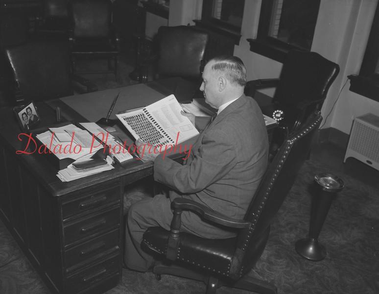(05.29.58) Judge William Troutman, president of the Shamokin High School alumni association.