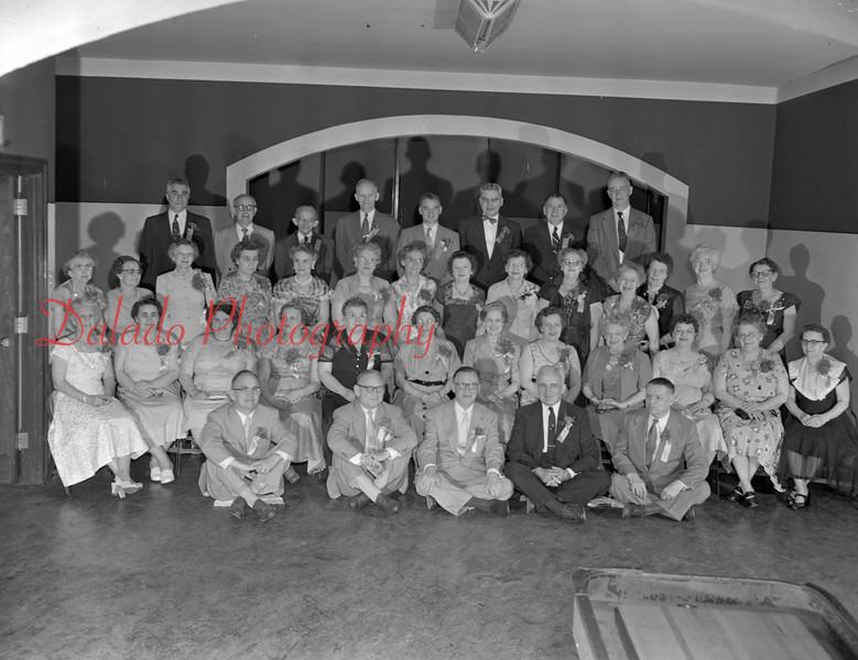 Shamokin High School Class of 1913 reunion.