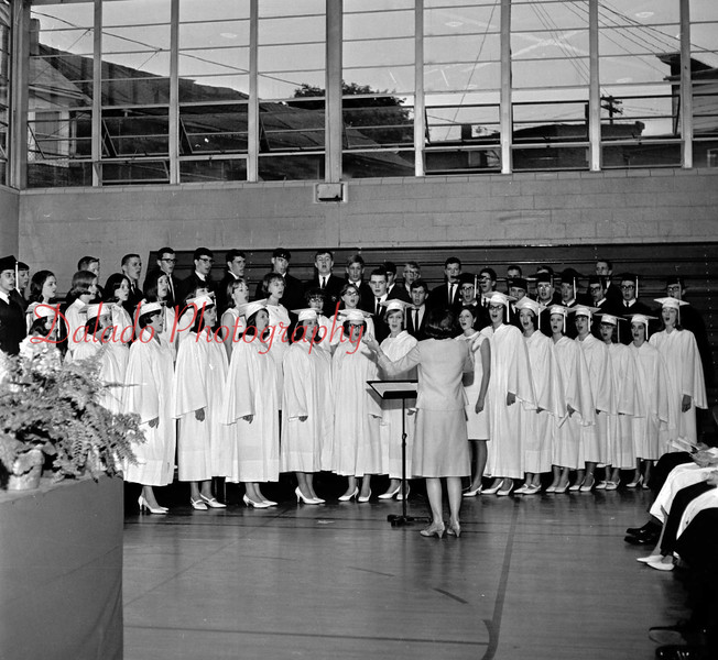 (1966) Shamokin Area High School chorus.