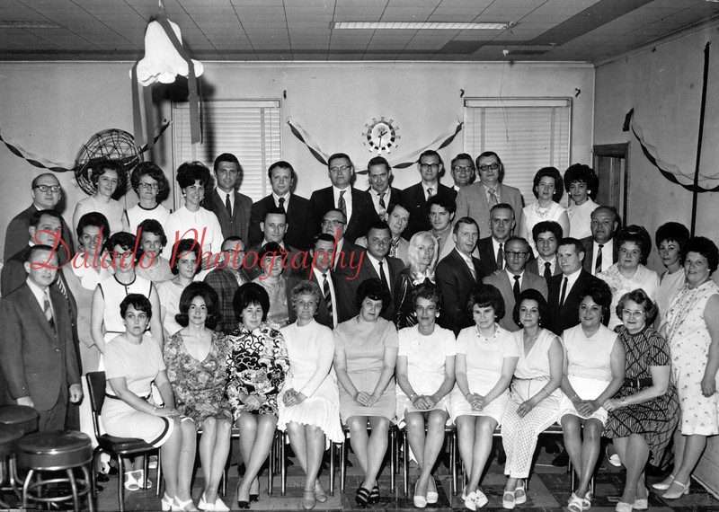 (1971) Shamokin High School Class of 1951 20th reunion.