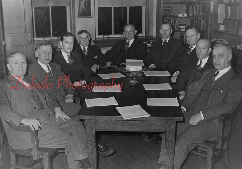 (1958) Shamokin High School administration.