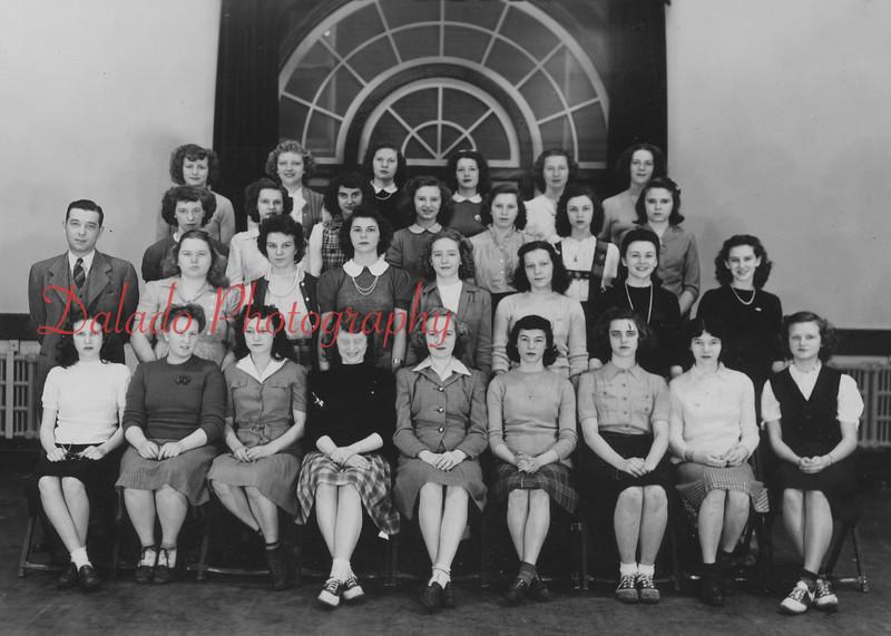 (Spring 1958) Shamokin High School sophomores.