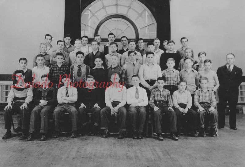 (Spring 1958) Shamokin High School freshmen.