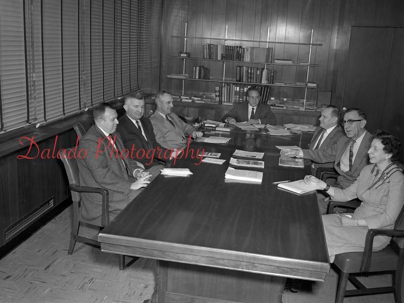 (02.04.1958) Shamokin Area school board.