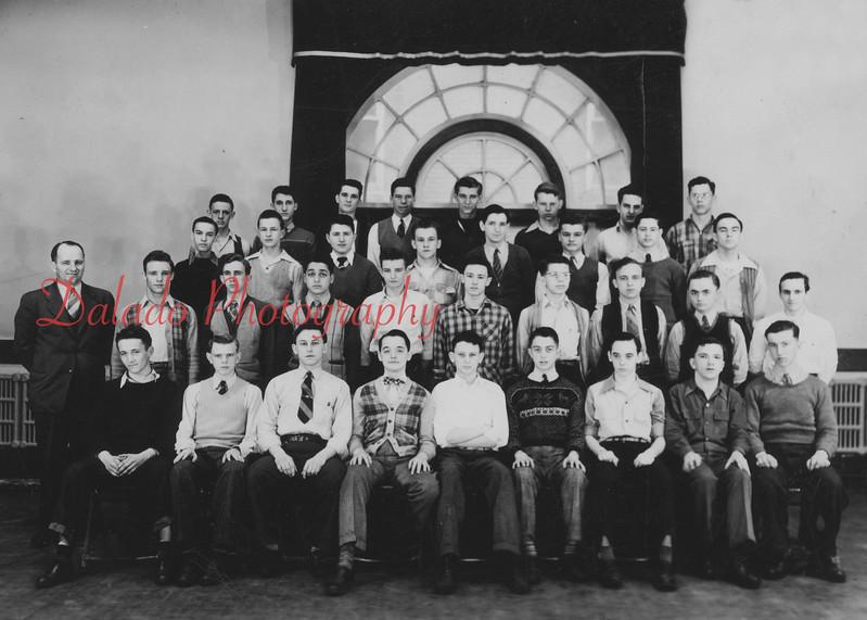 (Spring 1958) Shamokin High School juniors.