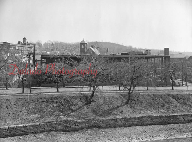 (April 1956) Annex Construction.