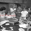 (07.28.55) Making pot holders at handicraft are Linda Cunningham, Ann Rodarmel, Nancy Dressler and Molly Alleman.