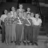 (10.04.53) Washington School patrol boys are, front row, from left, Patrick Jones, John Williams, Floyd Welker and Buddy Ehler; second, Richard Schrieber, George Thomas, Eugene Boughner and Richard Sholly; third, David Fry, Billy Wilson and Roger Payne.