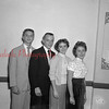 (09.29.55) St. Edward's High School senior class officers are, from left, Edward Ludes, Tom Jones, Barbara Karpinski and Patricia Spears.