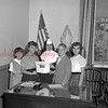 (10.27.55) Civic club of St. Edward's School. Shown are, from left, Carol Rollman, Theresa Pedrosa, Sister Regina Louise, advisor, Thomas Thompson and Rosemarie Mazzatesta.