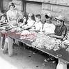 (1955) Pictured are, from left, Sally Kurtz, Bonnie Snyder, Stan Pickering, Marilyn Clutcher, John Pickering, Steve Magyar, Hermon Miller and Ed Kurtz.
