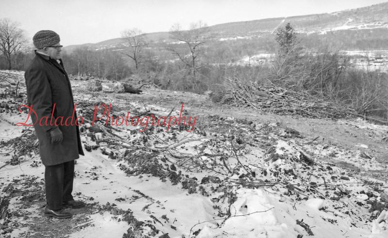 (02.27.71) Vo-Tech Construction tree cutting.