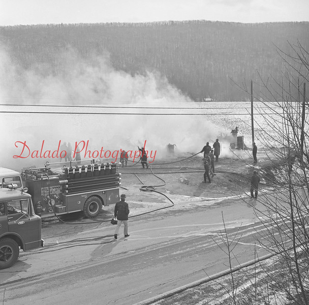 Stielys Fire west of Trevorton.