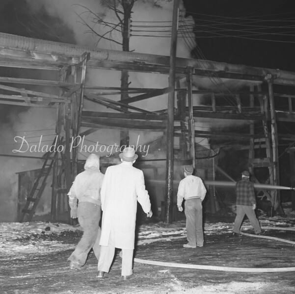 (Sept. 1961) Weight Scales breaker fire.