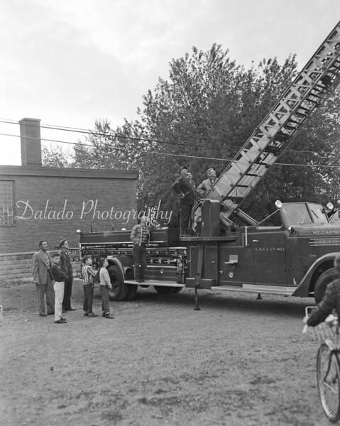 (Oct. 1965) Mount Carmel fire training.