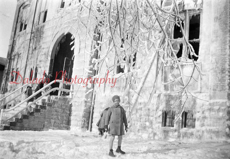 (1934) Washington School fire in Shamokin.
