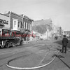 (1952) Mount Carmel Oak Street Fire. This became the community's library.