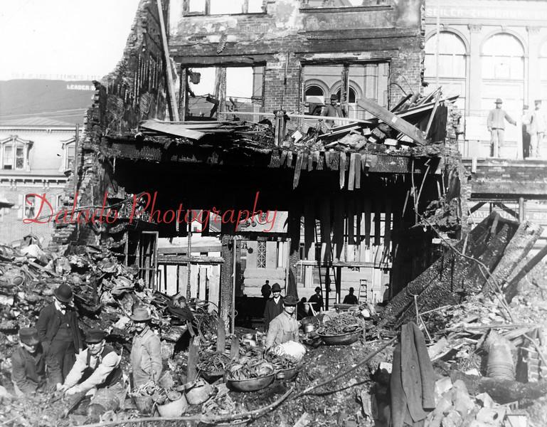 (02.08.1906) Hack & Sanner Fire.