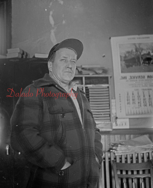 (01.03.1957) Mount Carmel Fire Department Chief Don Williams.