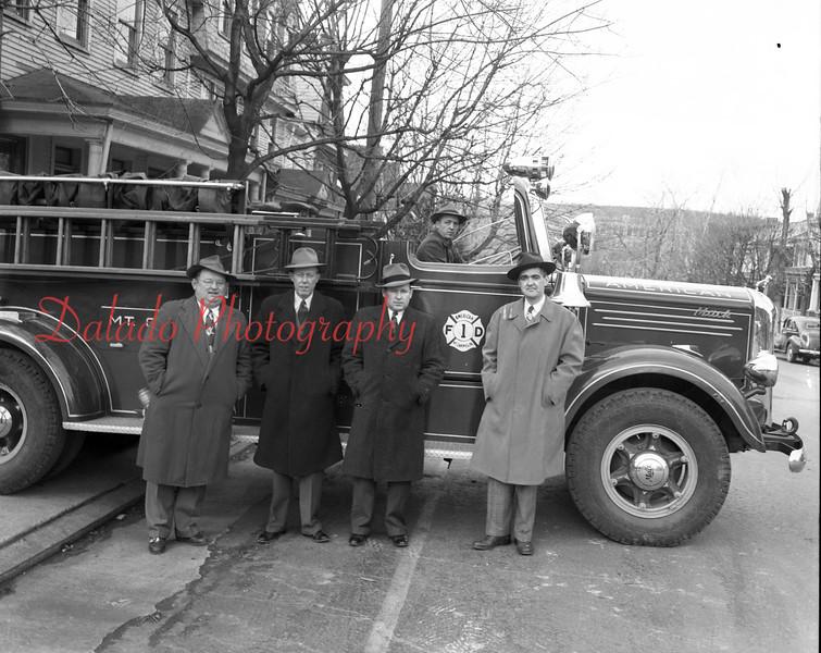 (1950) American Fire Company, Mount Carmel.
