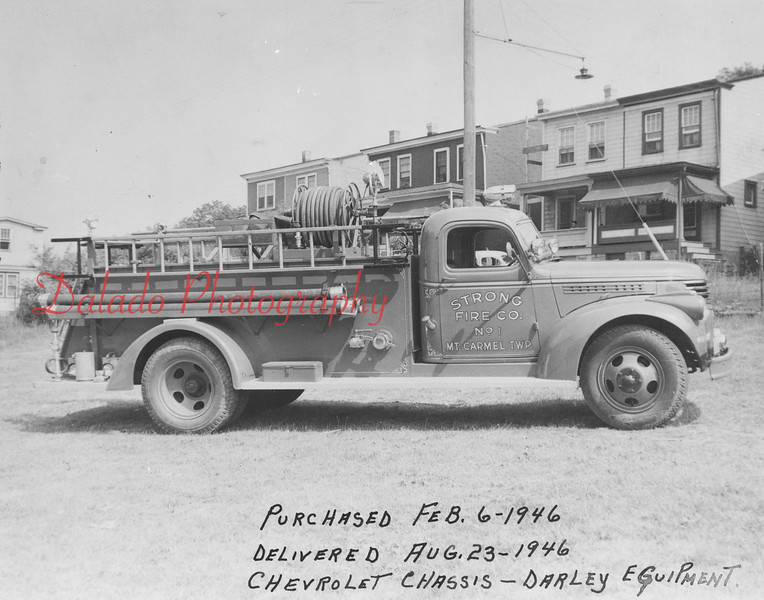 (1946) Strong Fire Company.
